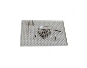326 Hole Rectangle Acrylic Wire Designing Jig Board & 25 Metal Jig Pegs for Wire Shaping. J2237